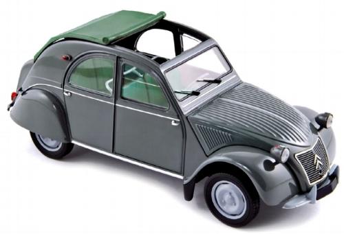 """181499  Citroën 2CV AZL """"Malle Bombée"""" 1957, grijs, Norev"""