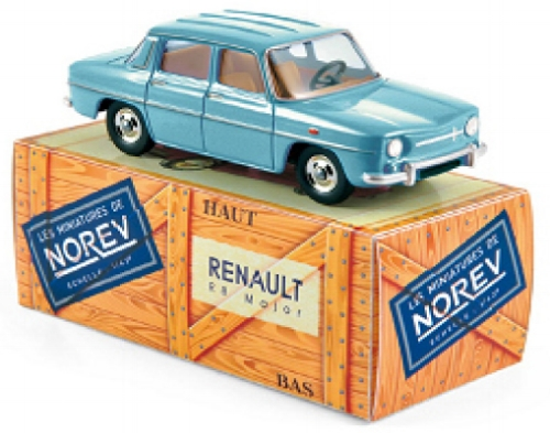 CL5111    Renault R8 Major, Finlandblauw, Norev
