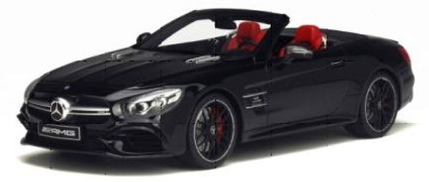 GT117  Mercedes-Benz SL63 AMG, zwart, GT Spirit