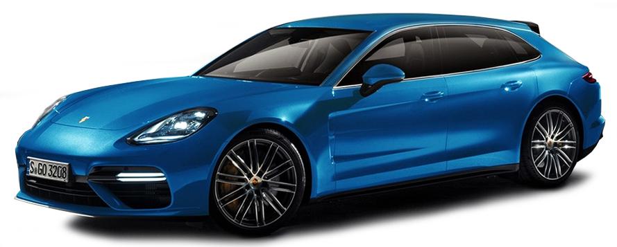 WAP0207600H  Porsche Panamera Sport Turismo 4S Diesel, blauw, Minichamps