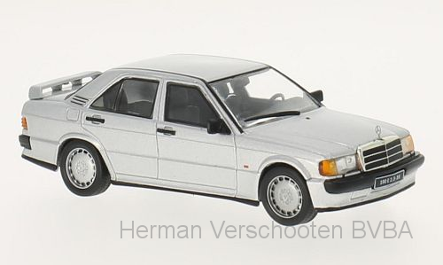 WB246    Mercedes-Benz 190E 2.3 16V, 1988, zilver, Whitebox