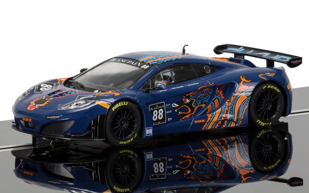 "3850    McLaren 12C GT3 2013 Blancpain Series, ""Ryan Racing"", Scalextric"