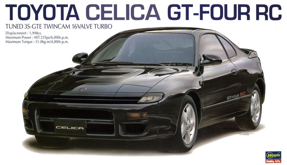 20255  Toyota Celica GT-Four PC, Hasegawa, Schaal 1/24
