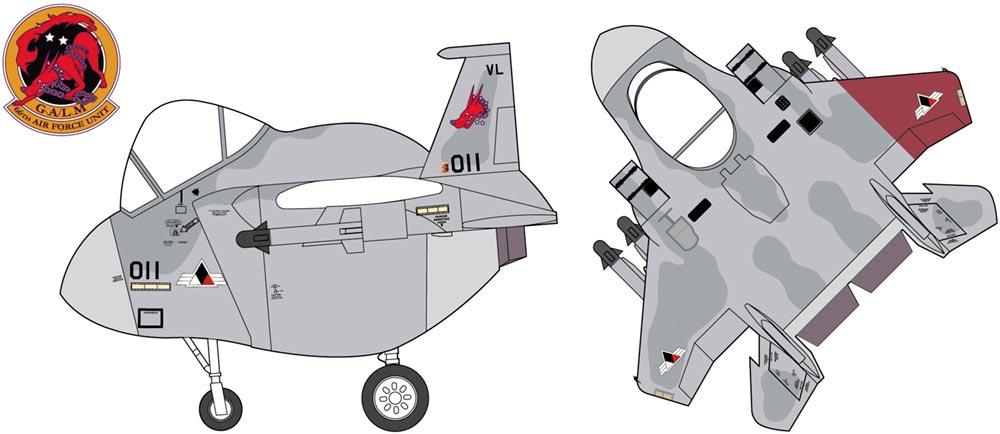 "52154  Ace Combat F-15C Eagle ""Galm 2"", Hasegawa"