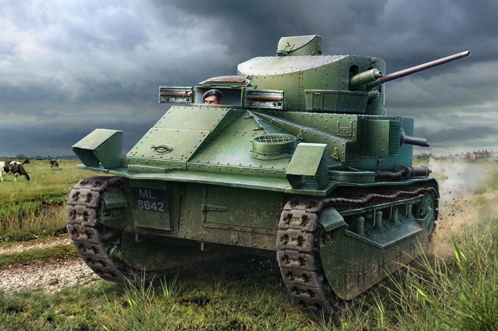 83880  Vickers Medium Tank Mk.II*, Hobby Boss, Schaal 1/35