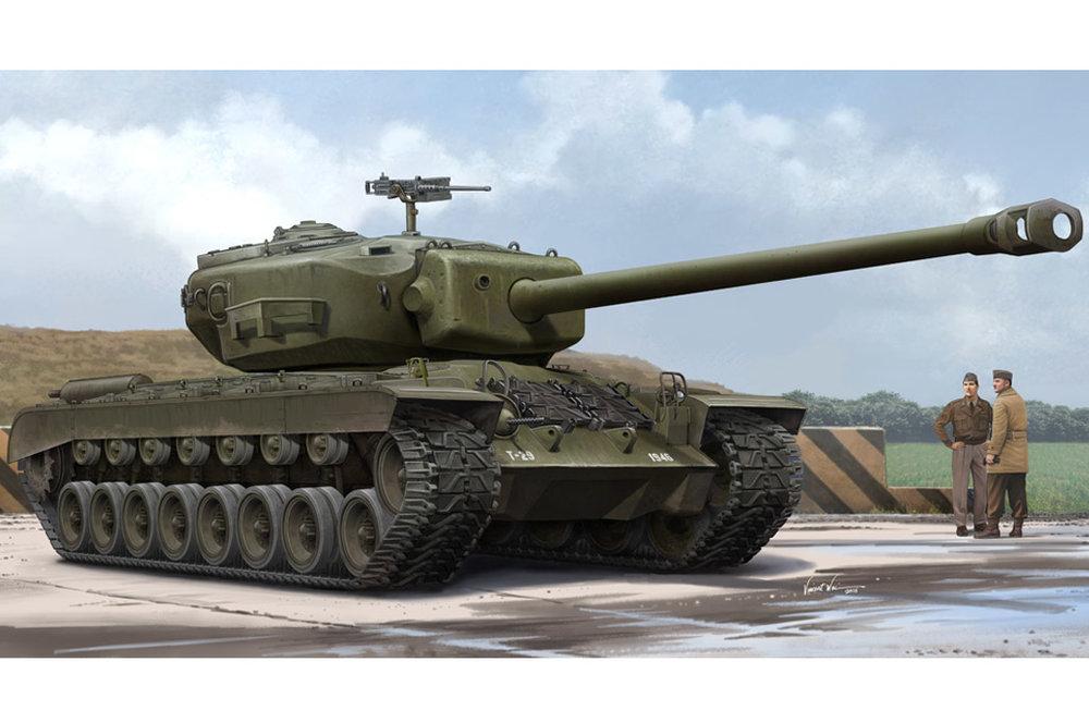 84510  US T29E1 Heavy Tank, Schaal 1/35