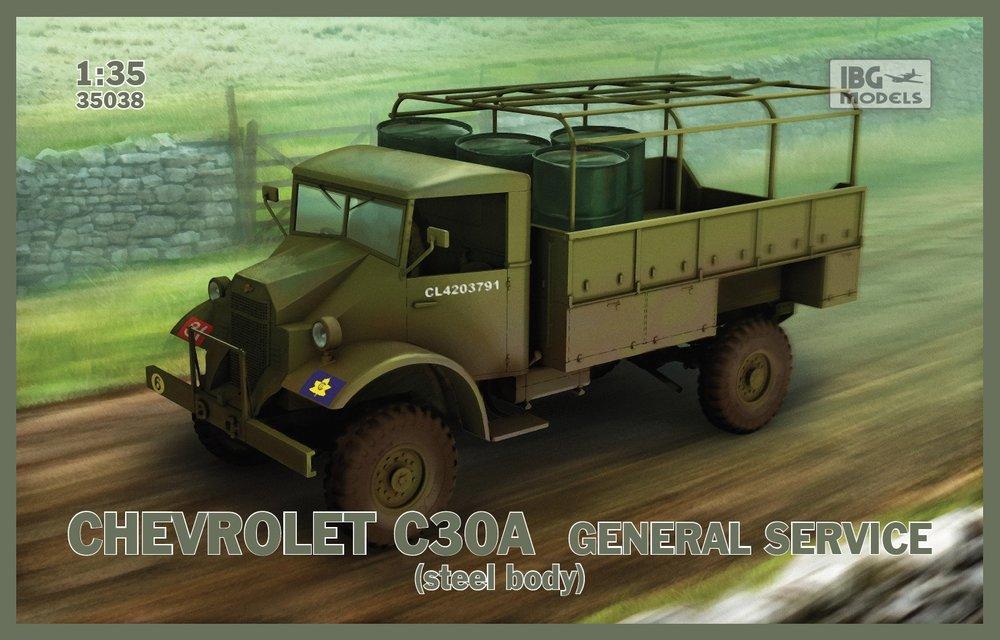 35038  Chevrolet C30A General Service, IBG Models, Schaal 1/35
