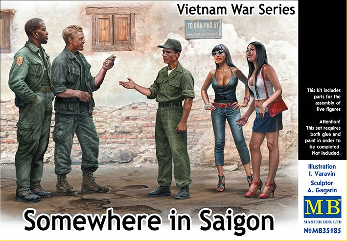 35185    Somewhre in Saigon, MB, Schaal 1/35