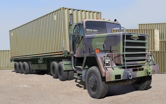 01015  M915 Truck, Trumpeter, Schaal 1/35