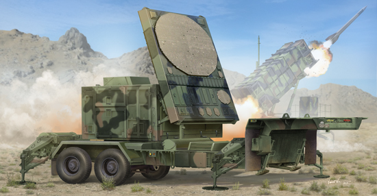 01023    MPQ-53 C-BandTracking Radar, Trumpeter, Schaal 1/35