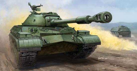 05547  Soviet T-10A Heavy Tank, Trumpeter, Schaal 1/35