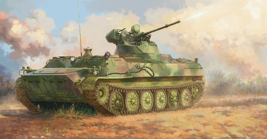 05580  Soviet MT-LB 6MB, Trumpeter, Schaal 1/35