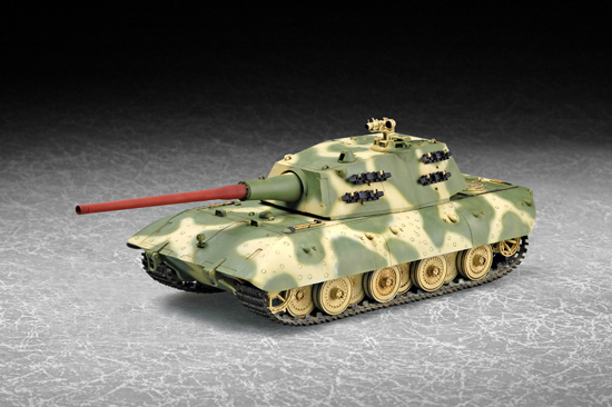 07121    German E-100 Super Heavy Tank, Trumpeter, Schaal 1/72