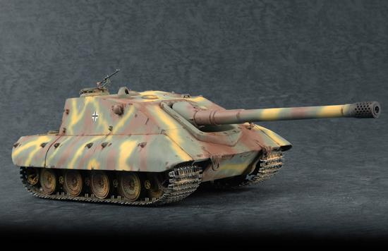 07122  German Jagdpanzer E-100, Trumpeter, Schaal 1/72