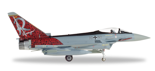 "580182    Eurofighter Typhoon ""Luftwaffe Richthofen"", Herpa Wings"