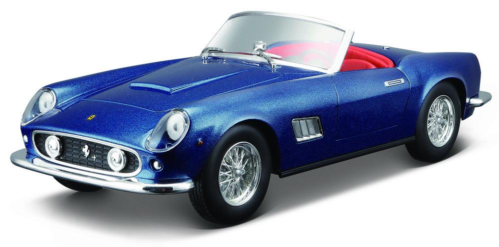 18-26020  Ferrari 250 GT California, blauw, Bburago