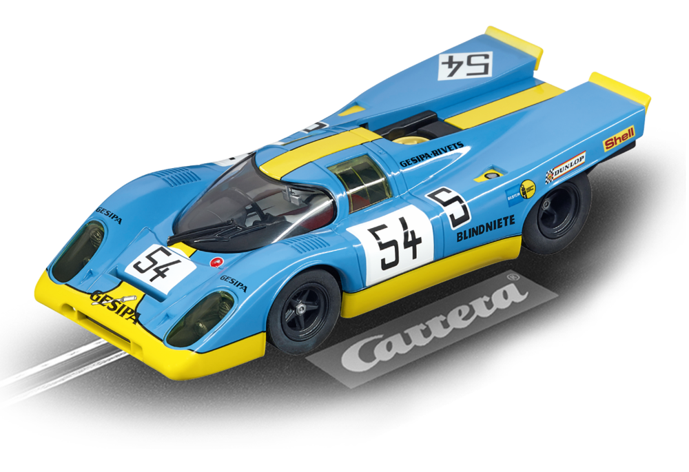 "30791    DIG132 Porsche 917K ""Gesipa Racing Team, No.54"", Carrera"