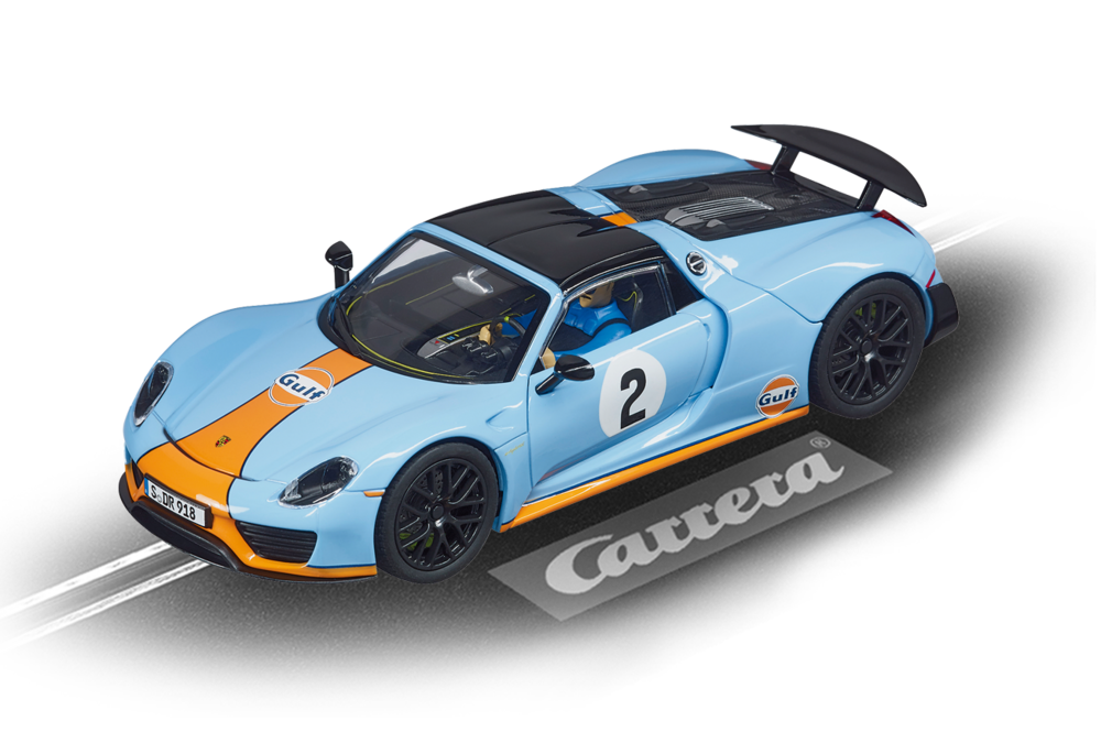"27549  Evo Porsche 918 Spyder ""Gulf racing, No.02"", Carrera"