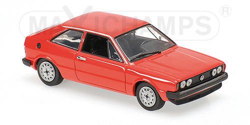 940050422  Volkswagen Scirocco 1974, rood, Minichamps/Maxichamps