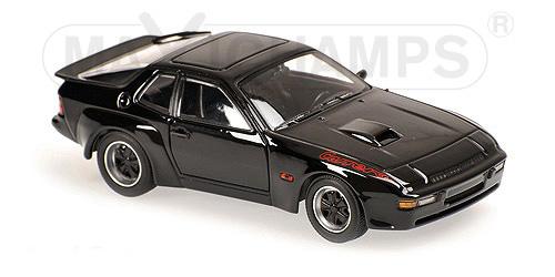 940066124  Porsche 924 GT 1981, zwart, Minichamps/Maxichamps