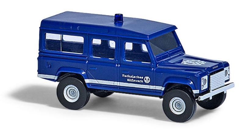 """8373  Land Rover Defender, """"THW"""", Busch"""