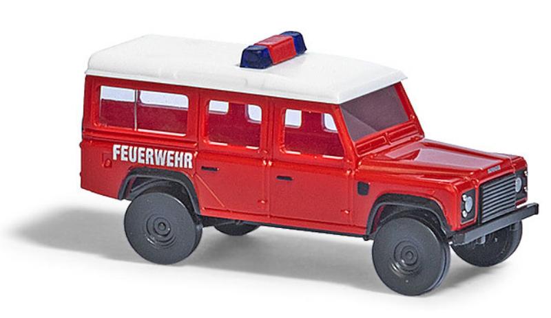 """8375  Land Rover Defender, """"Feuerwehr"""", Busch"""