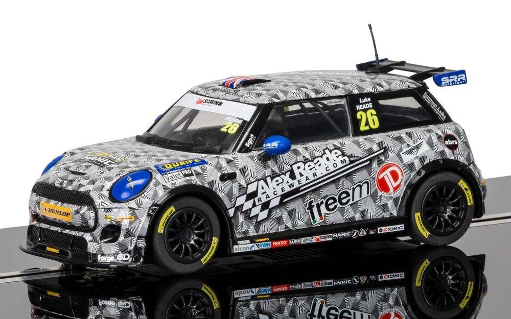 """3873  Mini Cooper F56 """"Mini Challenge 2016"""", Scalextric"""
