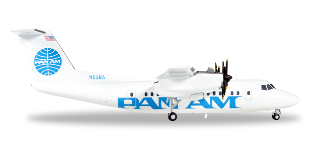 558556    De Havilland Canada DHC-7 Pan Am Express, Herpa Wings