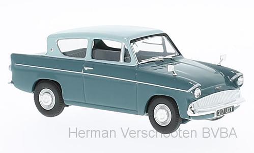 VA00132  Ford Anglia 105E Deluxe, blauw, Corgi