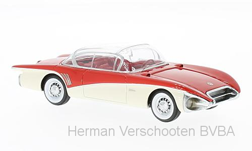 43845    Buick Centurion XP-301, rood/wit, Neoscale Models