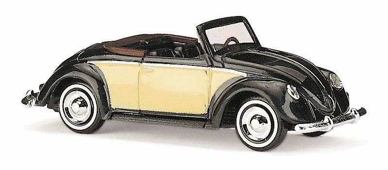 46711  VW Käfer Hebmüller, zwart/geel, Busch