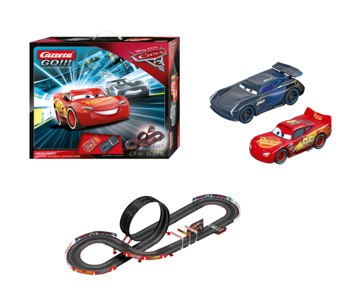 "62418    Disnay Pixar Cars 3 ""Finish First"", Carrera Go!!!"
