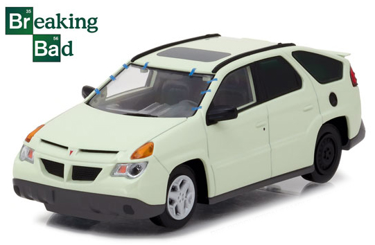 "86498    Walter White's ""Breaking Bad"" 2004 Pontiac Aztek, Greenlight"