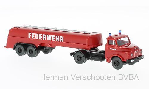 86142  Feuerwehr - Grobtanklöschfahrzeug (MAN), Wiking