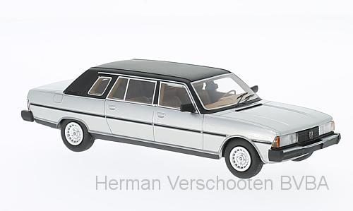 47080  Peugeot 604 Langversion Limousine, grijs, Neoscale Models