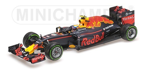 117161233    Red Bull Racinf TAG Heuer RB12 - M.Verstappen - 2016, Minichamps