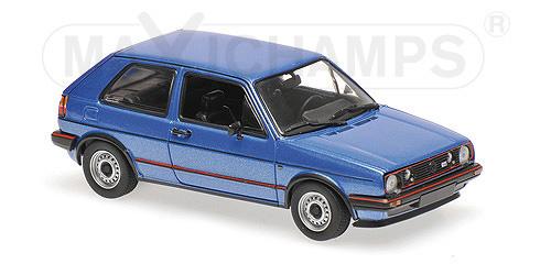 940054120  Volkswagen Golf GTI 1985, blauw met., Minichamps/Maxichamps