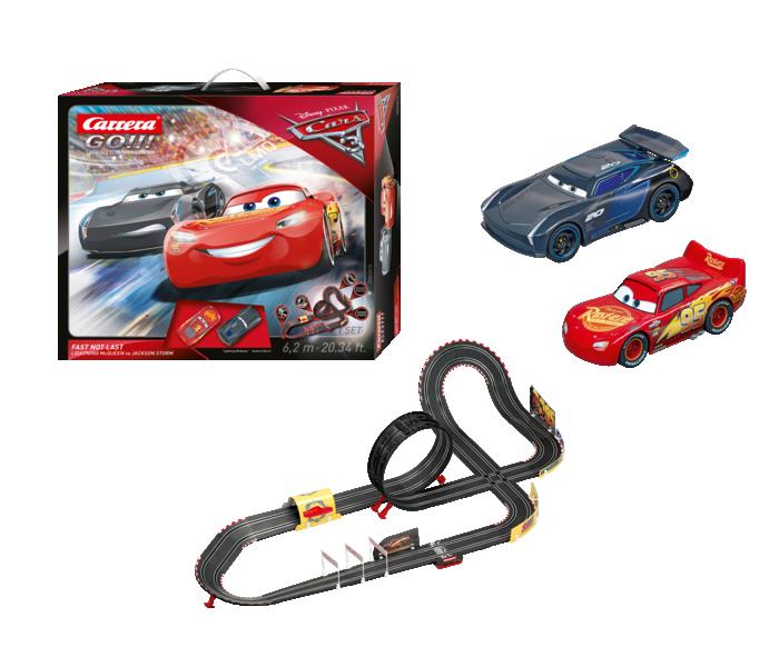 """62416  Go!!! Disney Pixar Cars 3 - """"Fast Not Last"""", Carrera"""