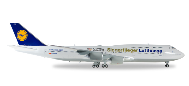 "558402    Boeing 747-8 I ""Lufthansa S.Fl. Olympia Rio 2016"", Herpa Wings"