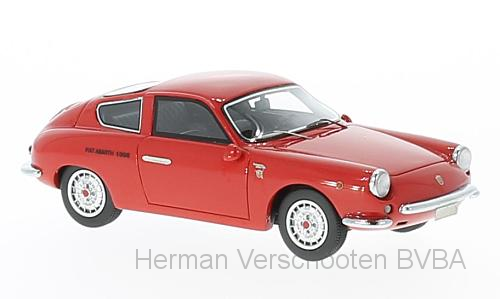 44605    Abarth 1000 GT Monoille, rood, Neoscale Models