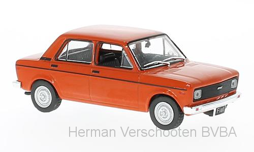 WB251    Fiat 128 Europa, 1978, rood, Whitebox
