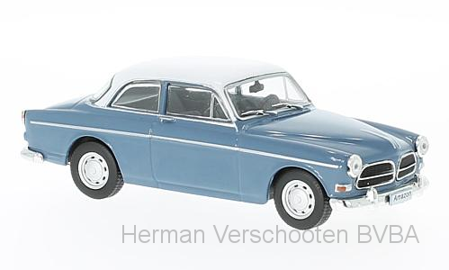 WB256    Volvo Amazon 130, 1965, lichtblauw/wit, Whitebox