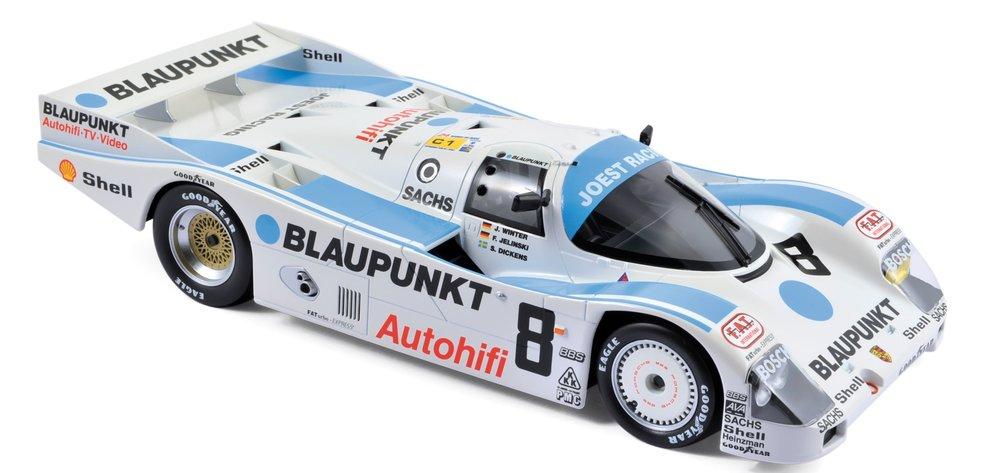 """187410  Porsche 962 C """"3rd Place 24h Le Mans 1988"""", Norev"""