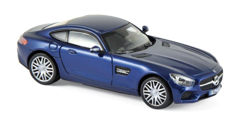 351348  Mercedes-Benz AMG GTS 2015 blauw met., Norev
