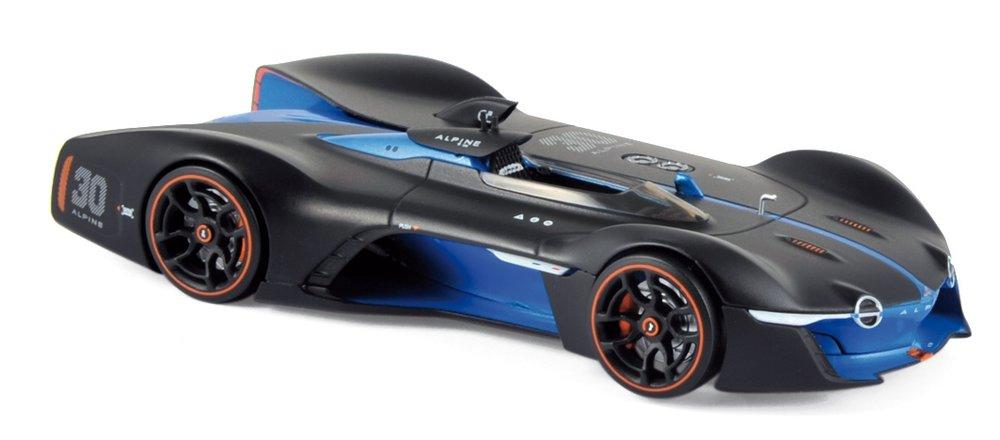 517847  Alpine Vision Gran Turismo 2015, matzwart/blauw, Norev