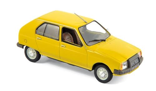 150940  Citroën Visa Club 1979, Mimosageel, Norev