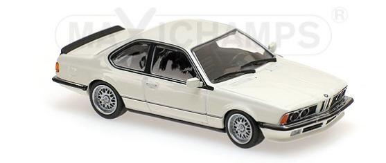 940025121  BMW 635 CSi (E24) 1982, wit, Maxichamps/Minichamps