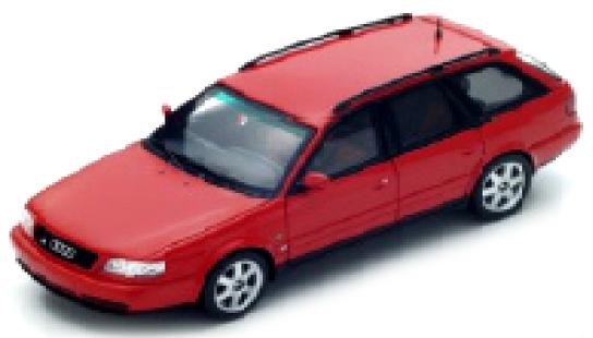 S4883  Audi S6 Plus Avant 1996, rood, Spark