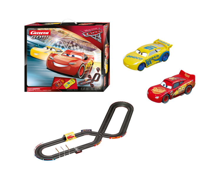"62419    ""Cars 3 - Fast Friends"", Carrera Go!!!"