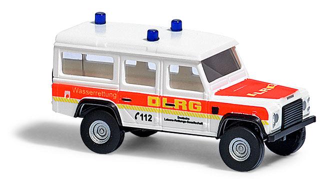 """8374  Land Rover Defender """"DLRG"""", Busch"""